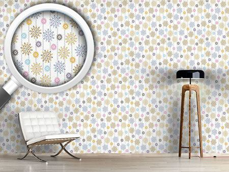 Design Wallpaper Silvias Flowers