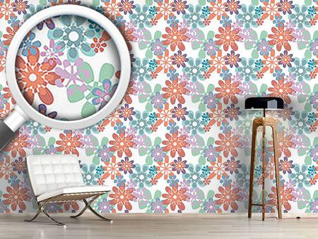 Design Wallpaper Gloria Flori Pastel