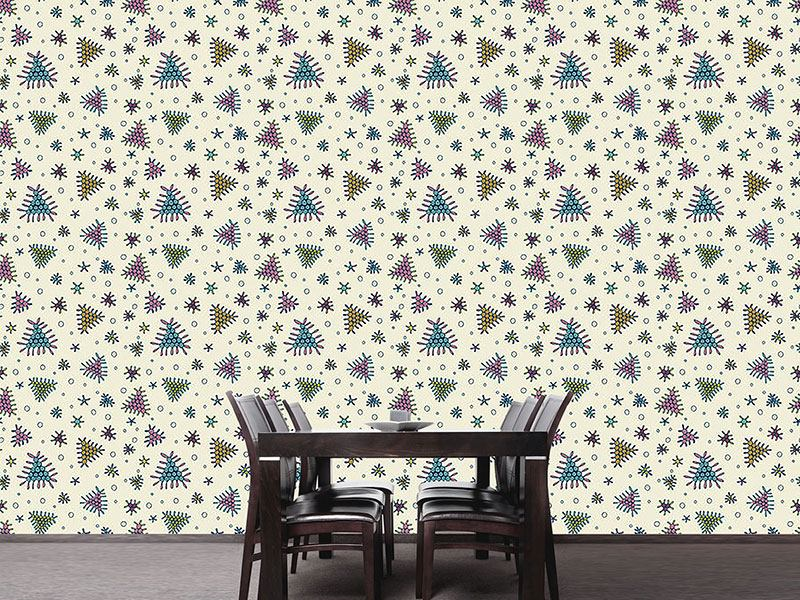 Papier peint design Berry Fall