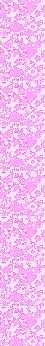 Design Wallpaper Songbird Sing Pink
