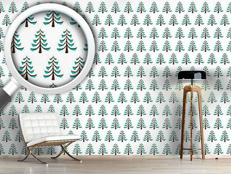 Design Wallpaper Frosty Wood