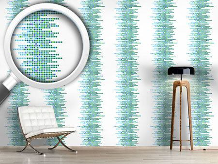 Design Wallpaper Clustered Tiles Ocean