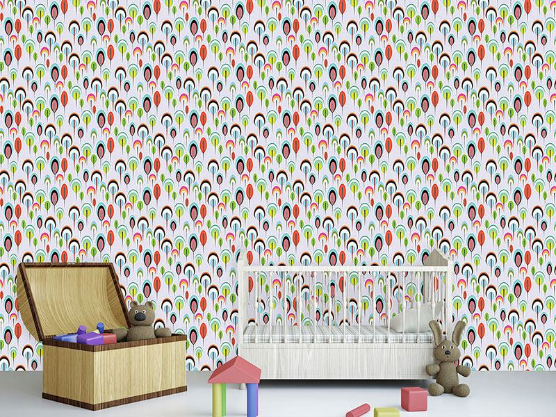 Papier peint design Mother Hulda Color