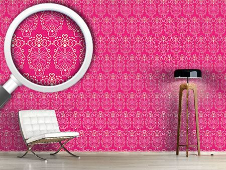 Design Wallpaper Pink Romance