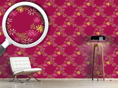 Design Wallpaper Nula Fucsia II