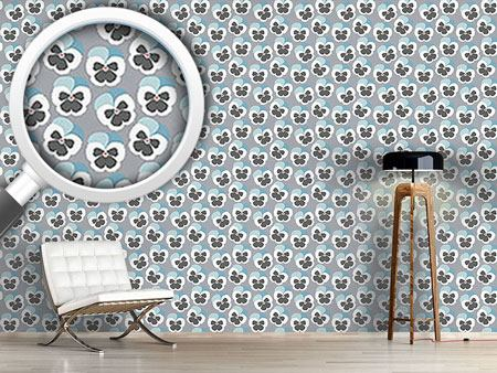 Design Wallpaper Violetta Blue