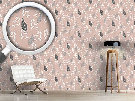 Design Wallpaper Leaves From Johannesburg