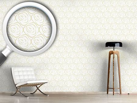 Design Wallpaper Rosabella Beige