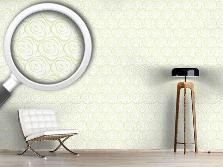 Design Wallpaper Rosabella Green