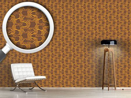 Design Wallpaper New Wave Brown