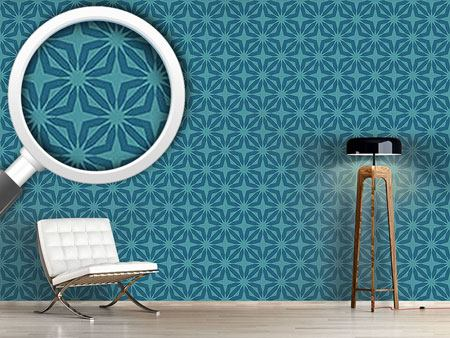 Design Wallpaper Stella Blue