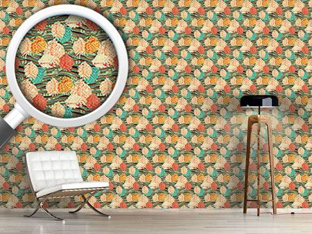 Design Wallpaper Floral Flow