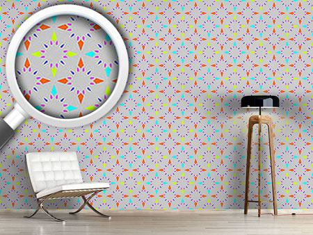 Design Wallpaper Stars Mosaic
