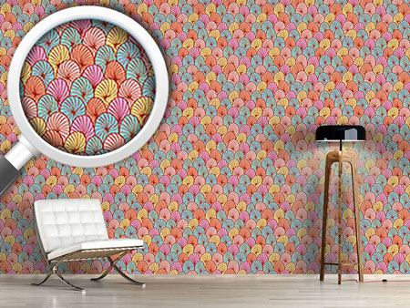 Design Wallpaper Spinning Circles