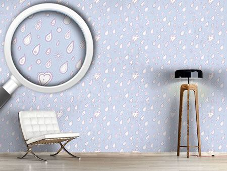 Design Wallpaper Paisley Rain