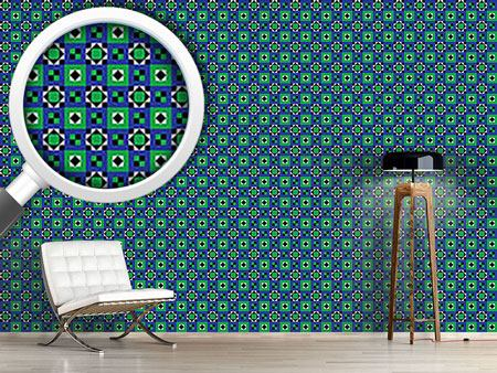 Design Wallpaper Ethnic Quilt