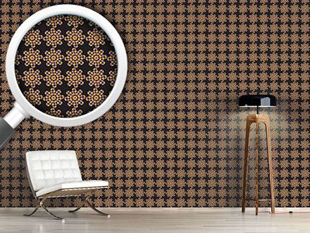 Design Wallpaper Black Dotty