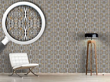 Design Wallpaper Diamond Ikat