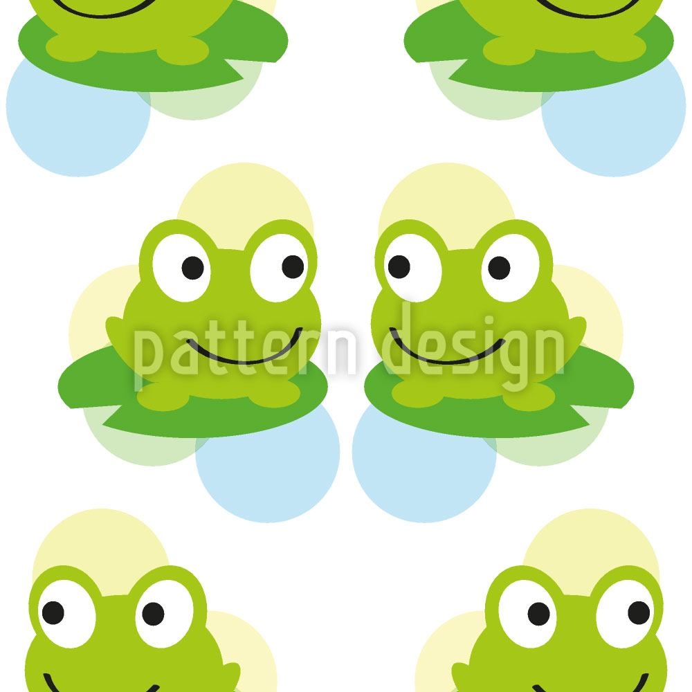 Carta da parati Twin Frogs