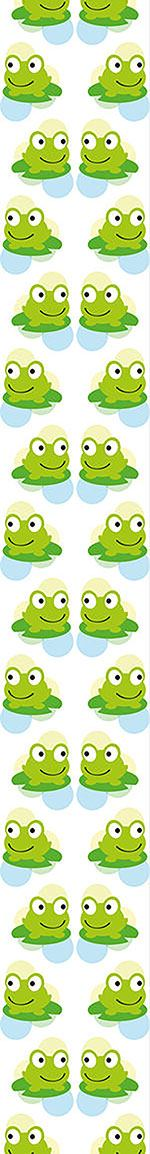 Papier peint design Twin Frogs