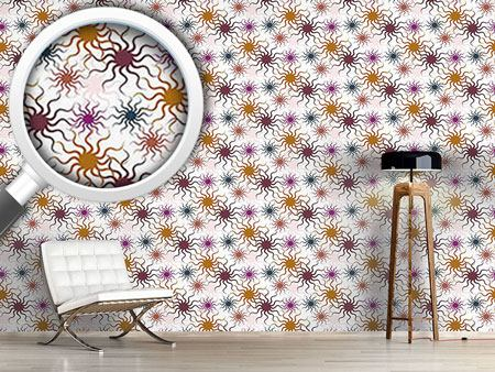Design Wallpaper Starfish On White