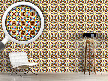 Design Wallpaper Portuguese Tiles