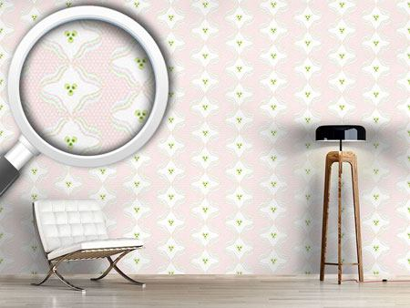 Design Wallpaper Polka Dots With Waves
