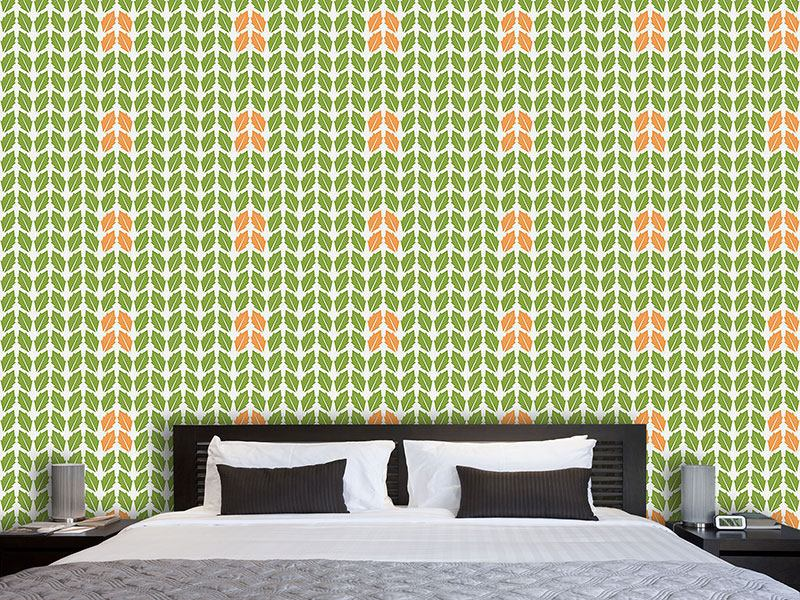 Design Wallpaper Sorted Leaves