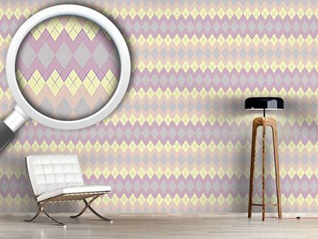 Design Wallpaper Soft Argyle