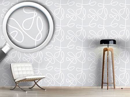 Design Wallpaper No Target Grey