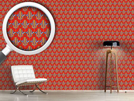 Design Wallpaper Bright Art Deco