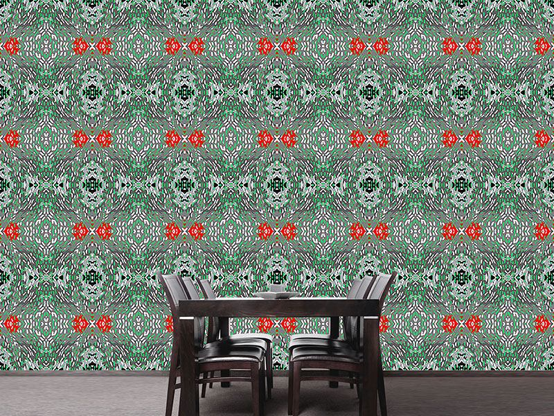 Design Wallpaper Red accents