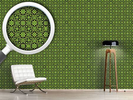 Design Wallpaper Green Farrago