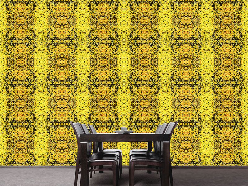 Design Wallpaper Stained Yellow