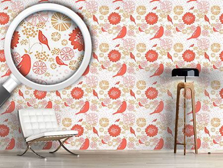 Design Wallpaper Poppy Paradise