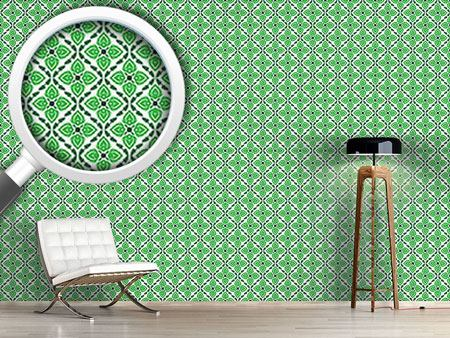 Design Wallpaper Captivating Green