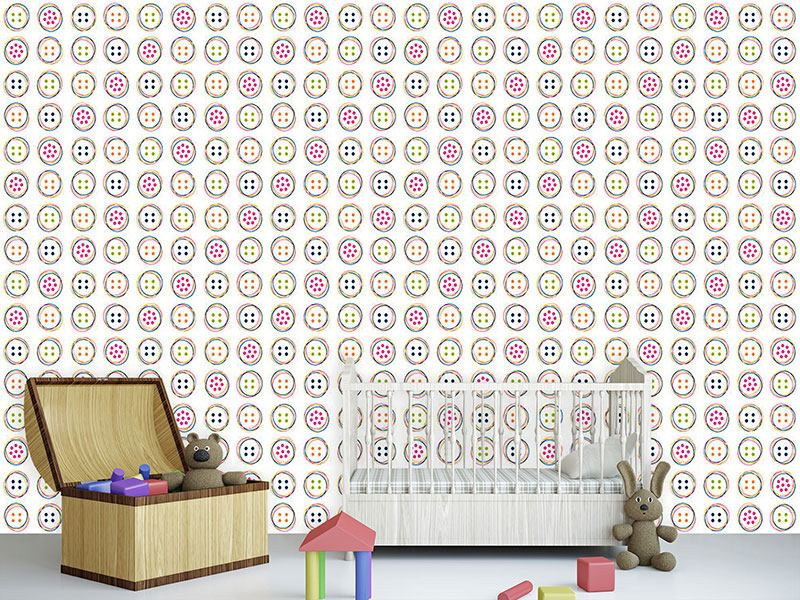 Papel tapiz de diseño Fun Button