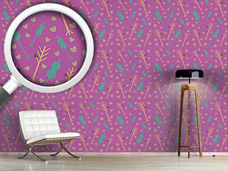 Design Wallpaper Atelier Purple