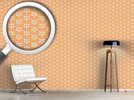 Design Wallpaper Blossom Drops Chamois