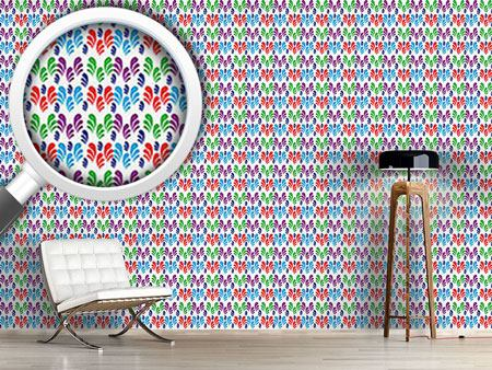 Design Wallpaper Swirly Meadow