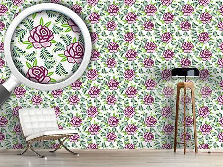 Design Wallpaper My Scottish Rose