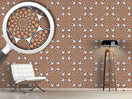 Design Wallpaper Mexican Mandala