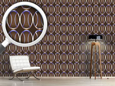 Design Wallpaper Metaloval