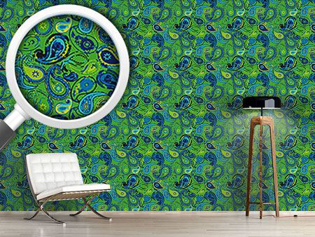 Design Wallpaper Paisley Express