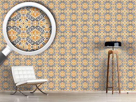 Design Wallpaper Time Curls By
