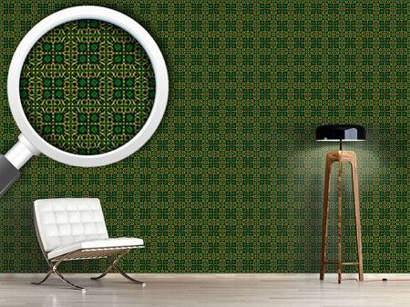 Design Wallpaper Ninety One In Gold Letters