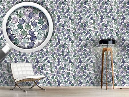 Design Wallpaper Dancing Bushes