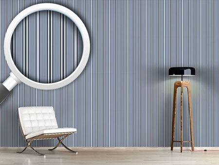 Design Wallpaper Gentlemen In Stripes