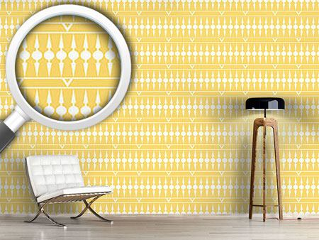 Design Wallpaper Balconia Yellow