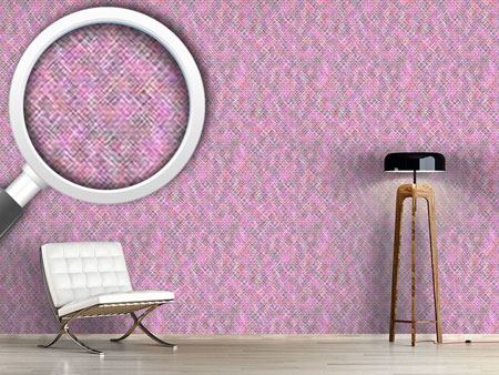 Design Wallpaper Confusion Of The Pink Squares